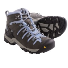 Keen Gypsum Mid Hiking Boots - Waterproof, Nubuck (For Women) in Gargoyle/Eventide - Closeouts