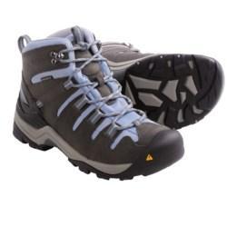 Keen Gypsum Mid Hiking Boots - Waterproof, Nubuck (For Women) in Gargoyle/Eventide