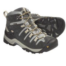 Keen Gypsum Mid Hiking Boots - Waterproof, Nubuck (For Women) in Gargoyle/Tawny Olive - Closeouts