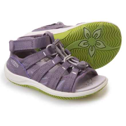 Keen Hadley Sport Sandals (For Little Girls) in Purple Sage/Greenery - Closeouts