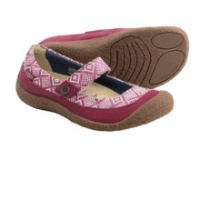 Keen Harvest Button Mary Jane Shoes (For Women) in Beet Red - Closeouts