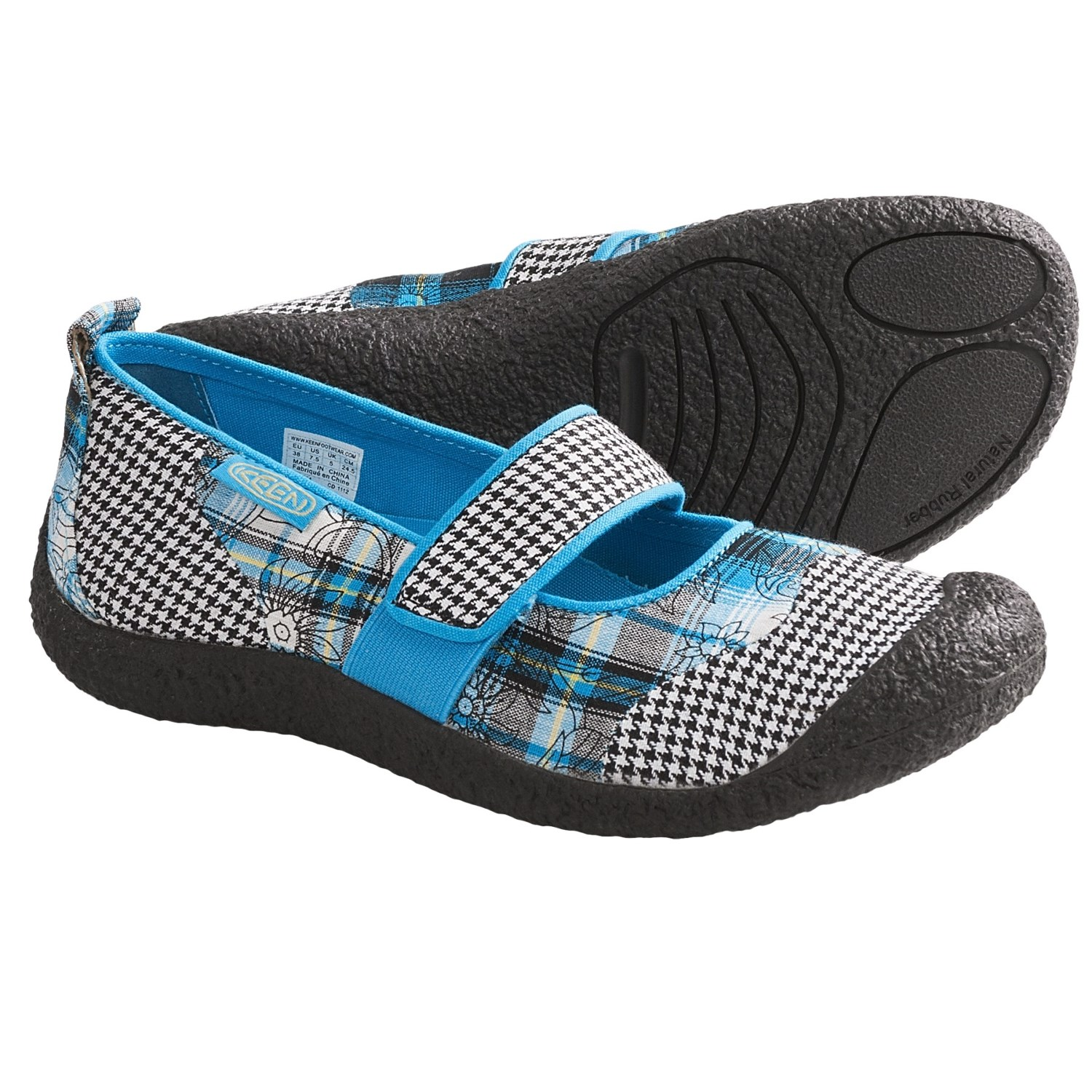 Keen Harvest Mary Jane Shoes (For Women) in Plaid