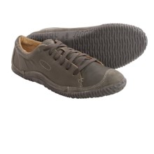 Keen Hilo Lace Leather Shoes (For Men) in Gargoyle - Closeouts