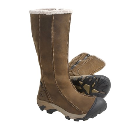 Keen Hoodoo High Boots - Waterproof (For Women) in Dark Earth/Shitake