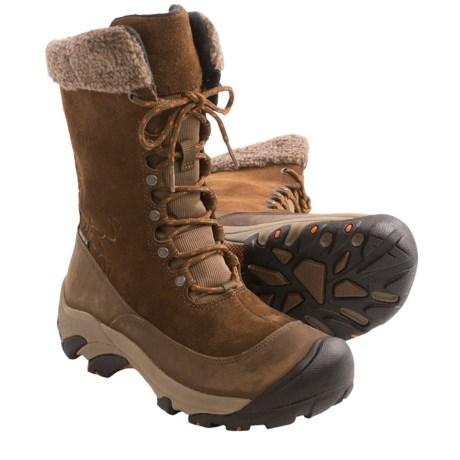 Keen Hoodoo II Winter Boots - Waterproof, Insulated (For Women) in Dark Earth/Rust