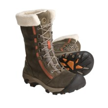 Keen Hoodoo Winter Boots - Waterproof, Insulated (For Women) in Brindle/Rust - Closeouts