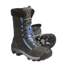 Keen Hoodoo Winter Boots - Waterproof, Insulated (For Women) in Gargoyle/Azure Blue - Closeouts
