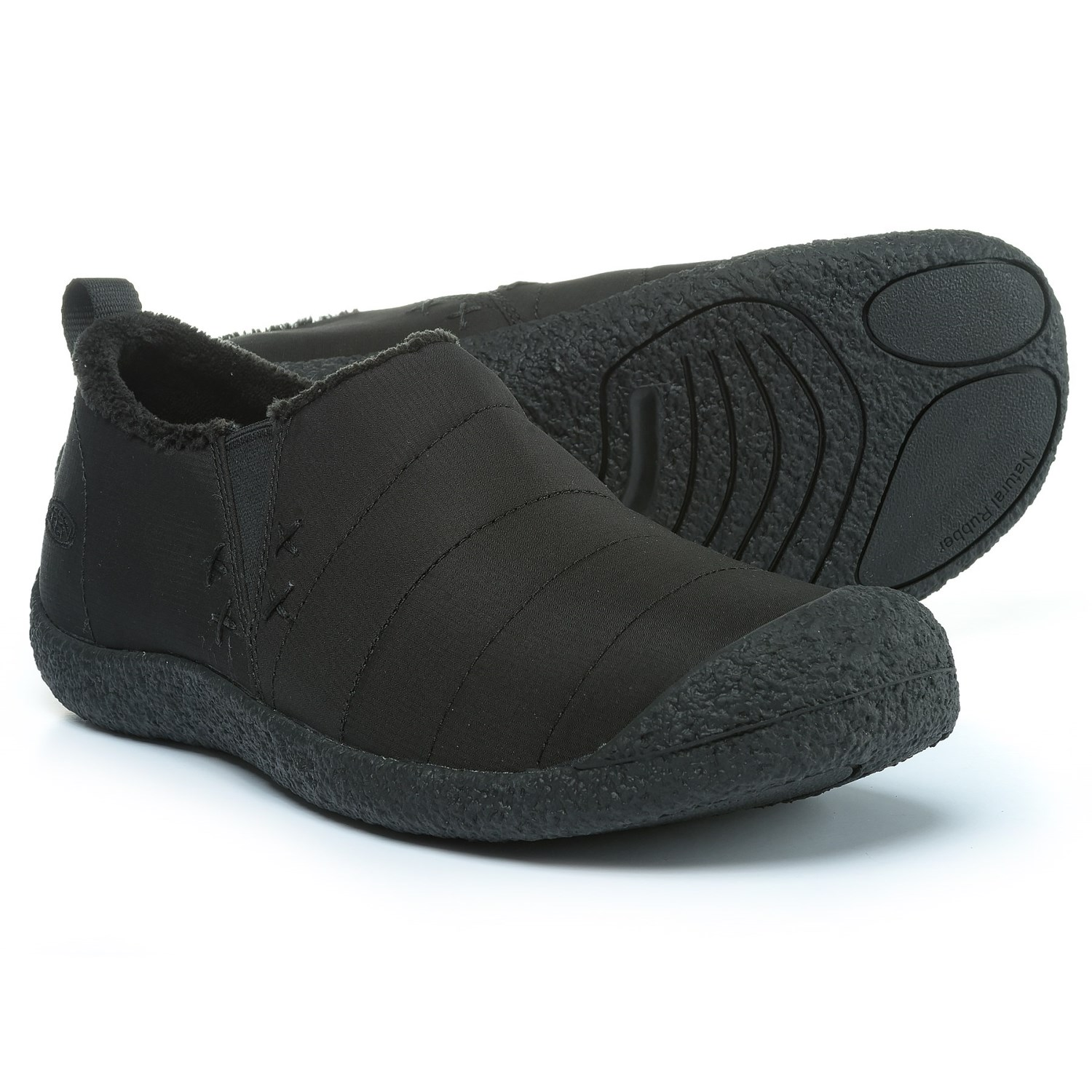 Keen Howser II Shoes - Slip-Ons (For Men) in Monocrome Black