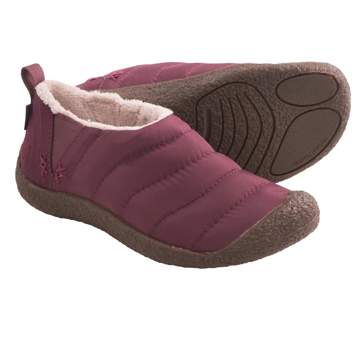 Keen Howser Shoes - Microfleece Lining (For Women) in Tawny Port