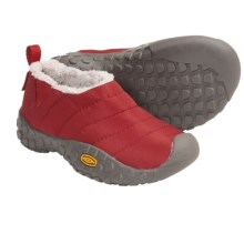 Keen Howser Slipper Shoes (For Kids) in Pompeian Red - Closeouts