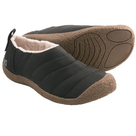Keen Howser Slipper Shoes (For Men) in Black