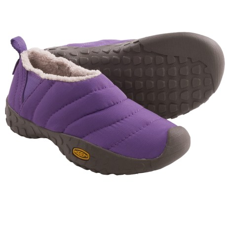 Keen Howser Slipper Shoes (For Youth Boys and Girls) in Purple Heart