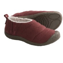 Keen Howser Slipper Shoes - Wool (For Women) in Madder Brown - Closeouts
