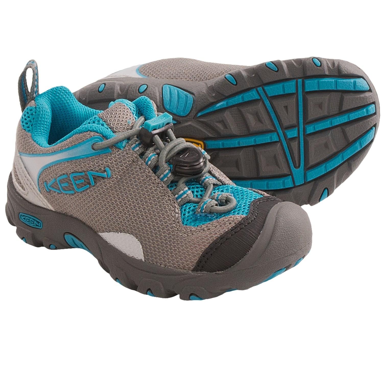 Keen Jamison Shoes (For Kids) in Gargoyle/Caribbean Sea
