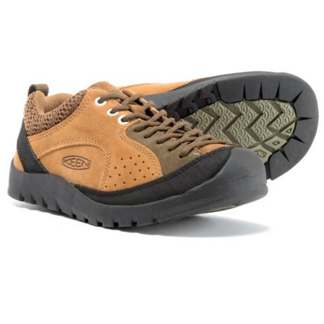 Keen Jasper Rocks Shoes - Suede (For Women) in Buckthorn Brown/Dark Olive