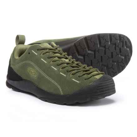 Keen Jasper Shoes (For Men) in Black Forest/Climbing Ivy - Closeouts