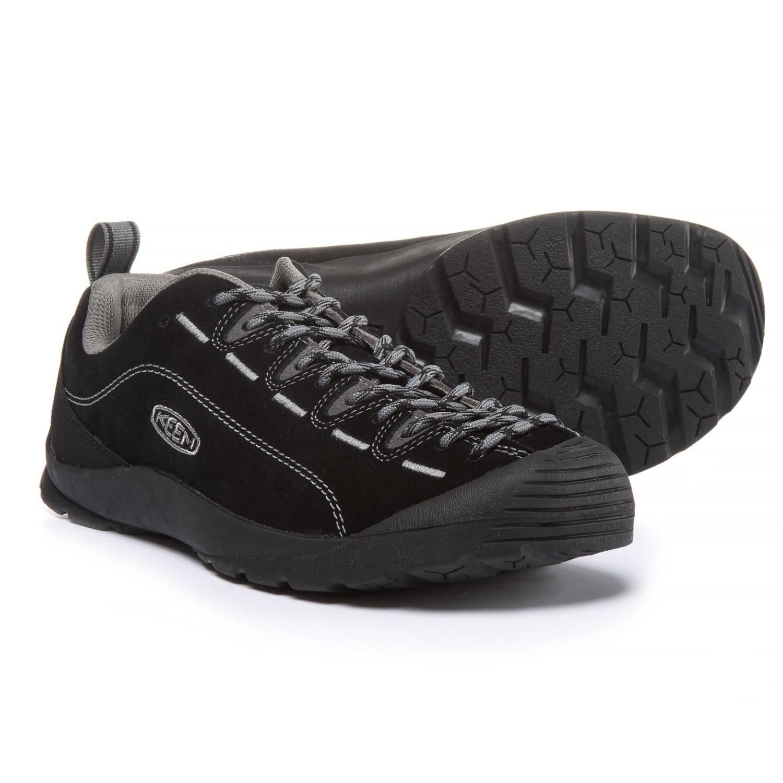 Keen Jasper Shoes (For Men) in Black/Steel Gray
