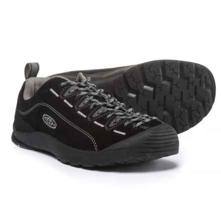 Keen Jasper Shoes (For Men) in Black/Steel Gray - Closeouts