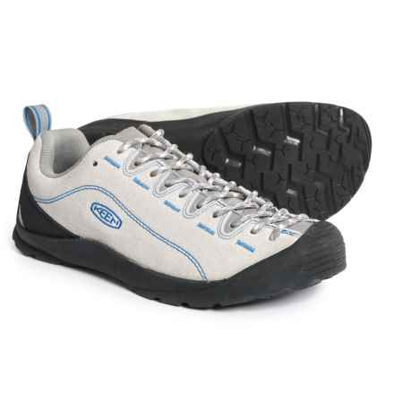 Keen Jasper Shoes (For Men) in Gray Violet/Brilliant Blue - Closeouts