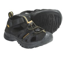 Keen Kanyon Sport Sandals (For Kids) in Black - Closeouts