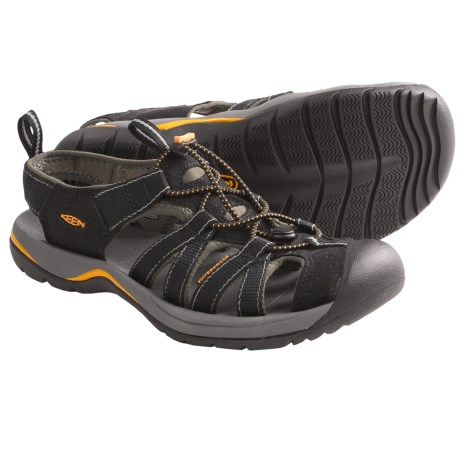 Keen Kanyon Sport Sandals (For Men) in Black/Gargoyle