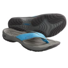 Keen Kona Sandals - Flip-Flops (For Women) in Norse Blue/Neutral Grey - Closeouts