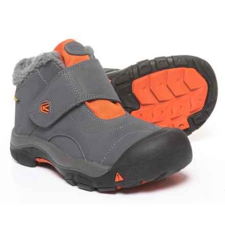 Keen Kootenay Winter Boots - Waterproof (For Boys) in Magnet/Koi - Closeouts