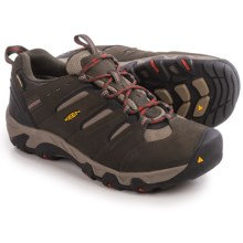 Keen Koven Hiking Shoes - Waterproof, Leather (For Men) in Black/Olive/Brindle - Closeouts
