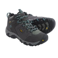 Keen Koven Polar Winter Shoes - Waterproof, Insulated, Leather (For Women) in Raven/Mineral Blue - Closeouts