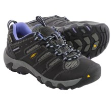 Keen Koven Trail Shoes - Waterproof (For Women) in Black/Periwinkle - Closeouts