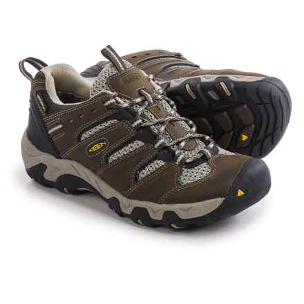 Keen Koven Trail Shoes - Waterproof (For Women) in Cascade/Aluminum - Closeouts