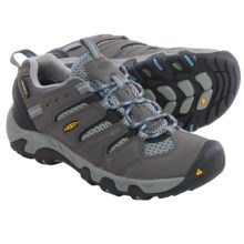 Keen Koven Trail Shoes - Waterproof (For Women) in Gargoyle/Alaskan Blue - Closeouts