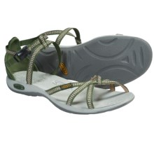Keen La Paz Strap Sandals (For Women) in Bronze Green - Closeouts