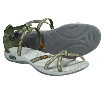 Keen La Paz Strap Sandals (For Women) in Bronze Green