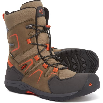f1ff4e72d694 Keen Levo Winter Boots - Waterproof, Insulated (For Boys) in Black Olive/