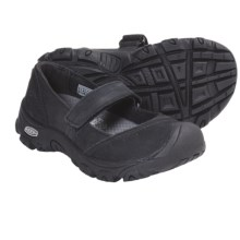 Keen Libby Mary Jane Shoes - Nubuck (For Kid Girls) in Black - Closeouts