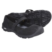 Keen Libby Mary Jane Shoes - Nubuck (For Youth Girls) in Black - Closeouts