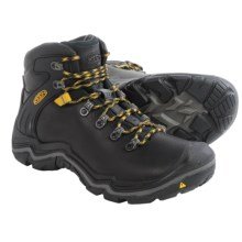 Keen Liberty Ridge Hiking Boots - Waterproof, Leather (For Men) in Black/Gargoyle - Closeouts