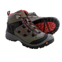 Keen Logan Mid Hiking Boots - Waterproof, Leather (For Men) in Forest Night/Bossa Nova - Closeouts