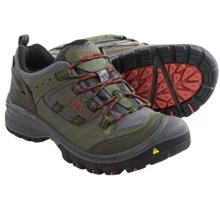 Keen Logan Trail Shoes - Waterproof (For Men) in Forest Night/Bossa Nova - Closeouts