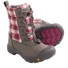 Keen Loveland Winter Boots - Waterproof, Insulated (For Youth Boys and Girls) in Gargoyle/Raspberry Radiance - Closeouts