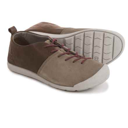 Keen Lower East Side Lace Sneakers (For Women) in Brindle/Zinfandel - Closeouts