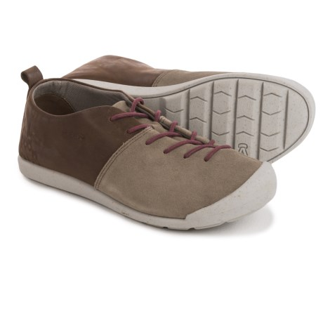 Keen Lower East Side Lace Sneakers (For Women) in Brindle/Zinfandel