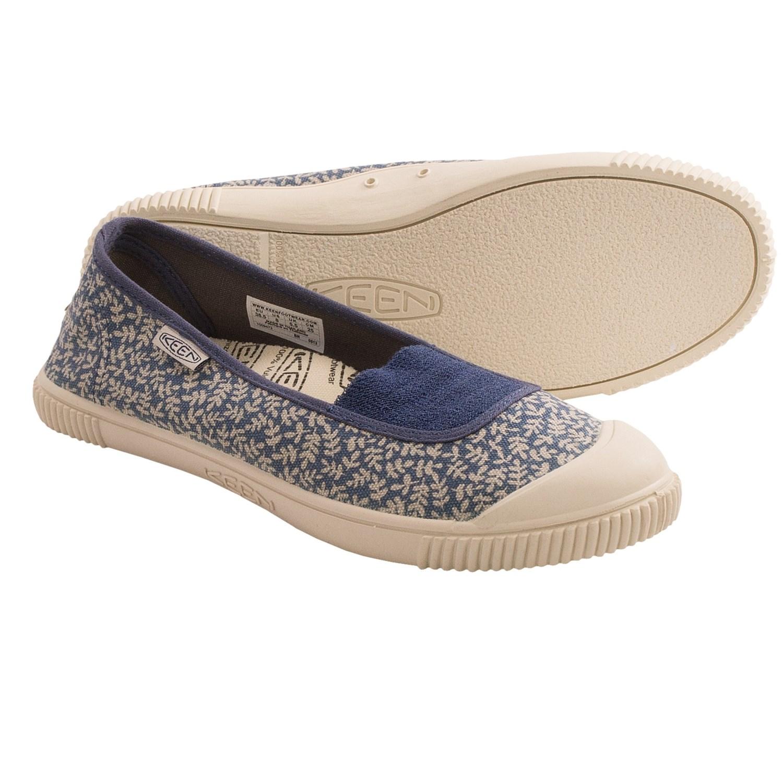 Keen Maderas Ballerina Shoes (For Women) in Blue Indigo