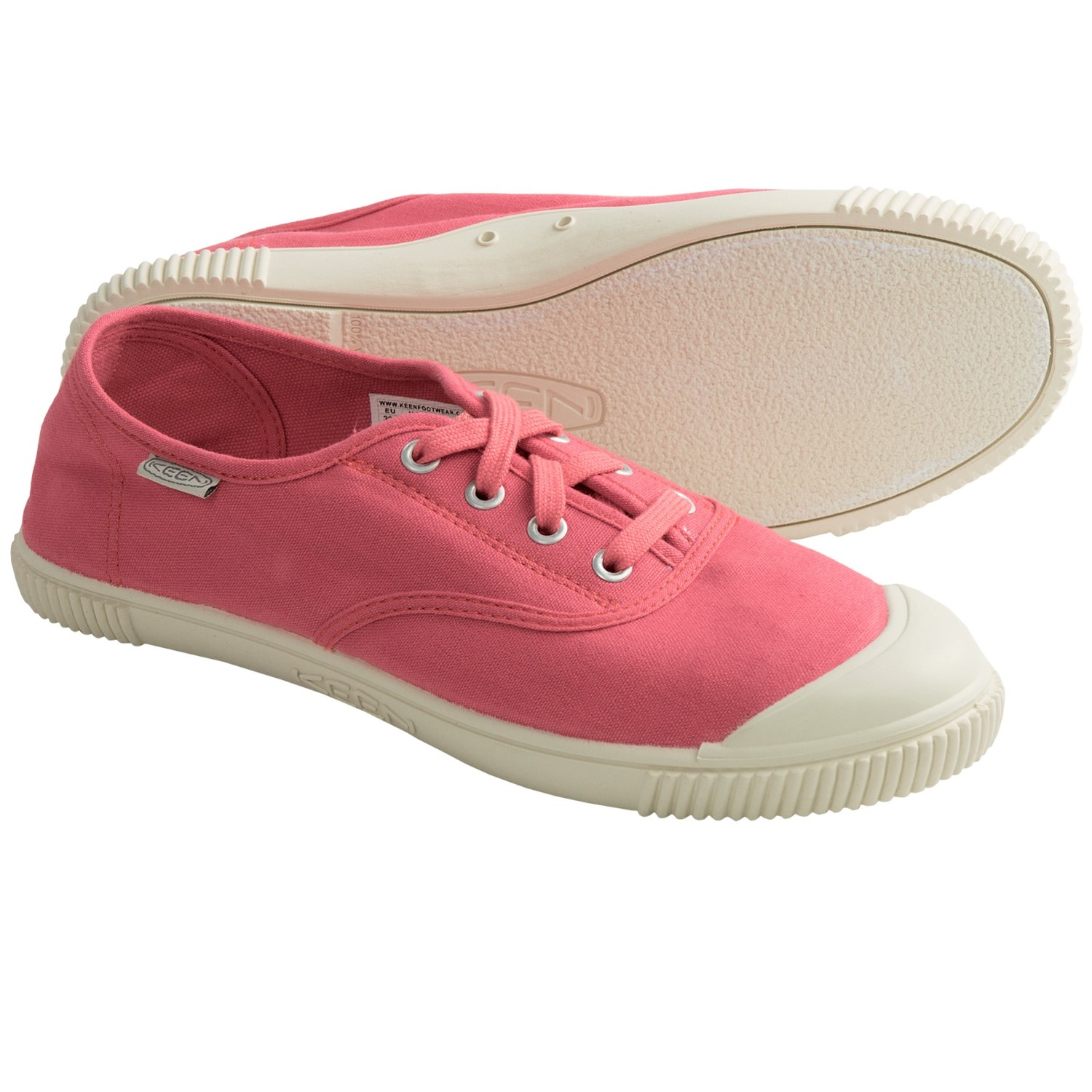 Keen Maderas Oxford Shoes (For Women) in Hot Coral