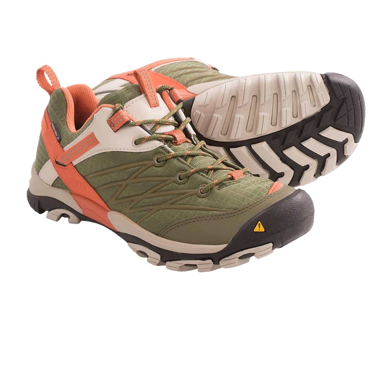 Keen Marshall Hiking Shoes - Waterproof (For Women) in Burnt Olive