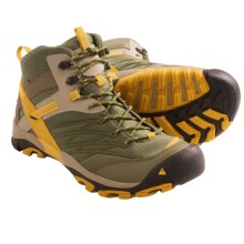 Keen Marshall Mid Hiking Boots - Waterproof (For Men) in Burnt Olive/Tawny Olive - Closeouts