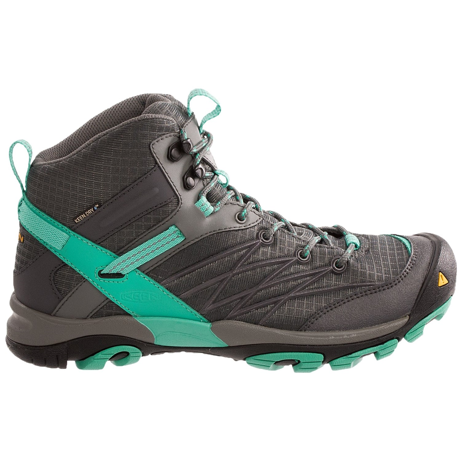 Awesome KEEN Womens Revel III Racing Red/Eggshell Waterproof Nubuck Leather Hiking Boot - KEEN From ...