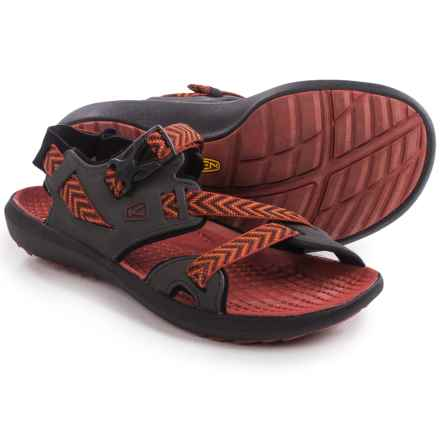 Keen Maupin Sport Sandals (For Men) in Raven/Bossa Nova - Closeouts
