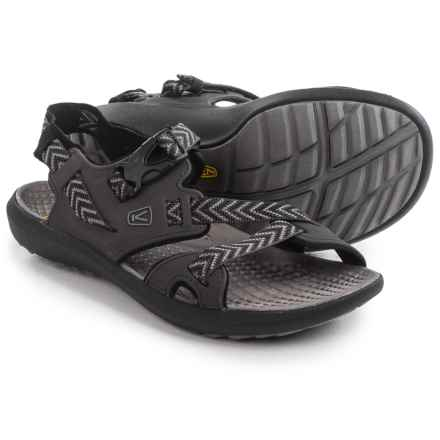 Keen Maupin Sport Sandals (For Men) in Raven/Gargoyle - Closeouts